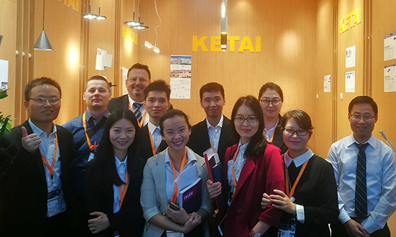 KETAI LIGHITNG IN 2017 HONGKONG FAIR PICTURE