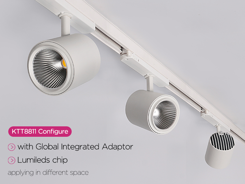 Integrated Adaptor track lighting KTT8811