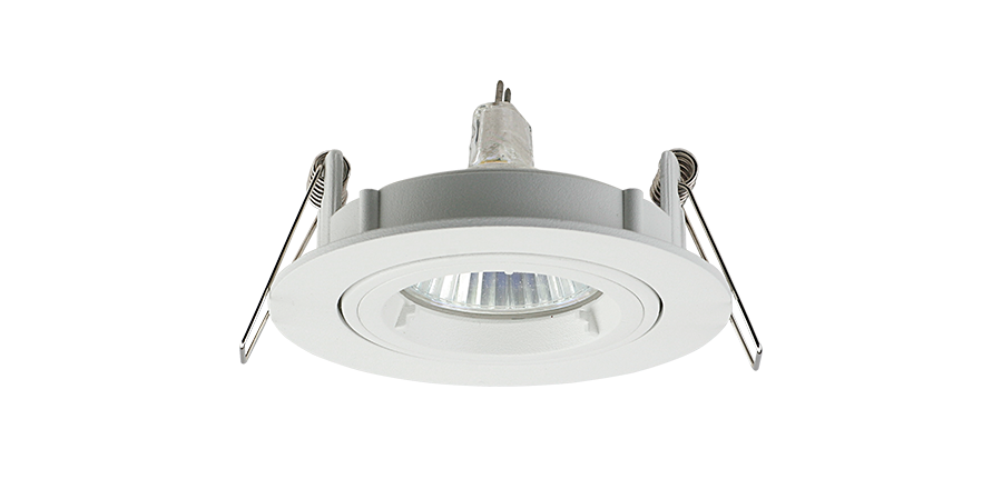 Light Parts Housing Tiltable Recessed Ceiling Downlight